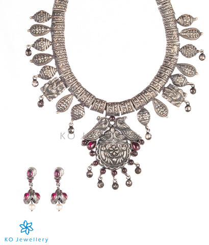 The Uddanda Silver Necklace