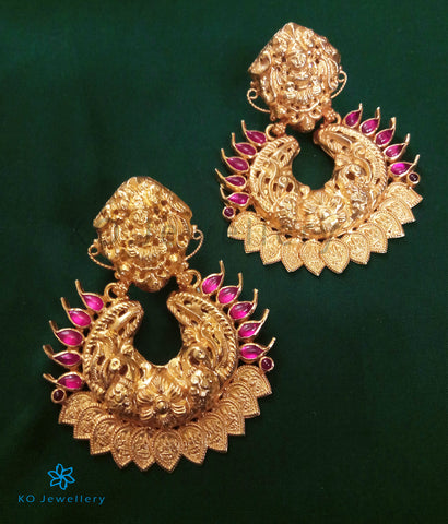 The Devika Silver Chand Bali Earrings