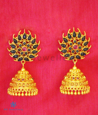 South Indian temple jewellery designs Lord Krishna pendant