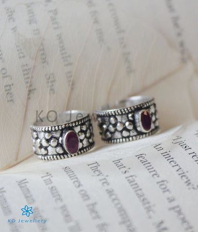 The Sahaj Silver Toe-Rings