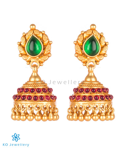 Purchase traditional South Indian temple jhumkas online