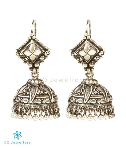 Oxidised silver temple jewellery online shopping