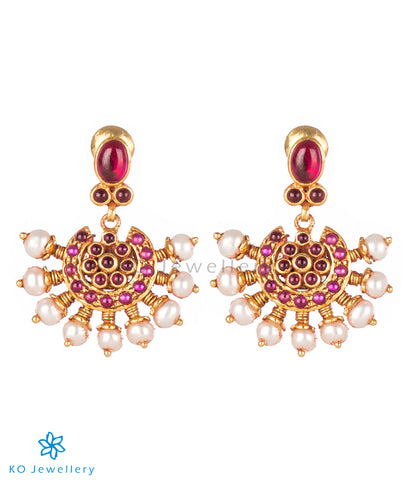 Buy traditional silver jhumkas online