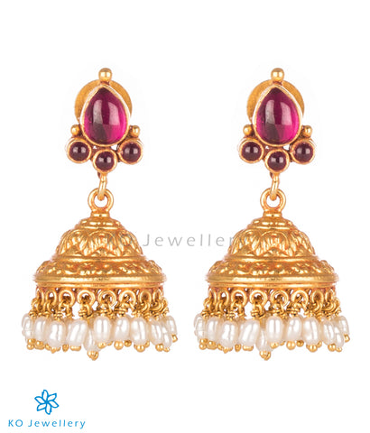 Buy traditional temple jewellery jhumkas online