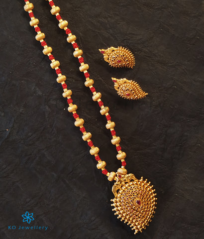 The Prashanti Jomale Silver Necklace