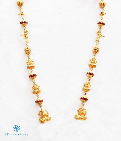 The Ishita Silver Lakshmi Chain