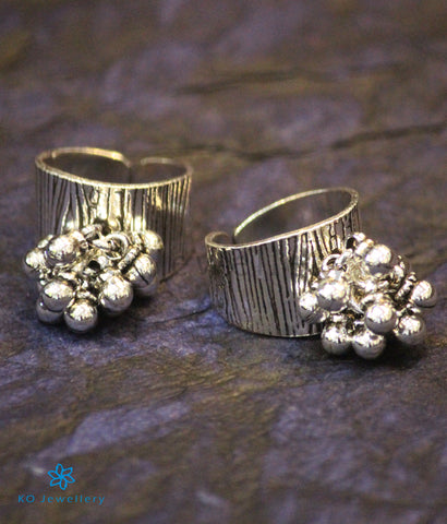The Kamya Silver Toe-Rings