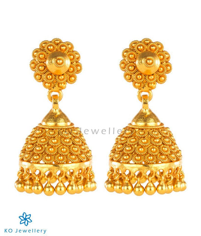 The Raaga Silver Jhumka-Big
