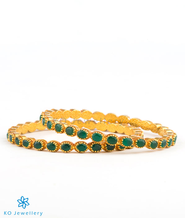 Lightweight, gold plated silver bangles online
