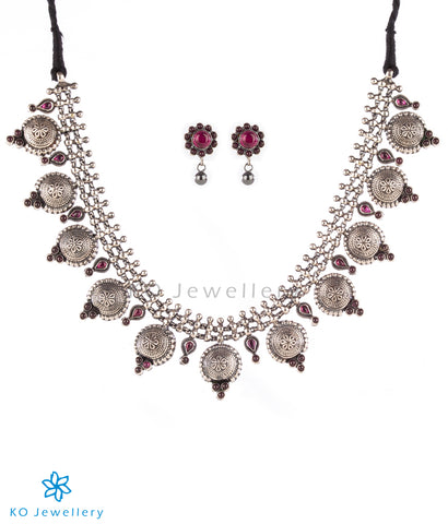 The Vartula Silver Necklace