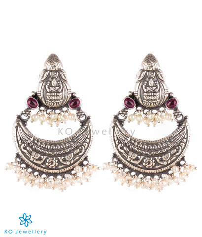 The Aparajita Silver Chand Bali Earrings