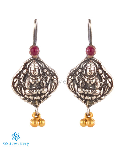The Kumuda Silver Earrings