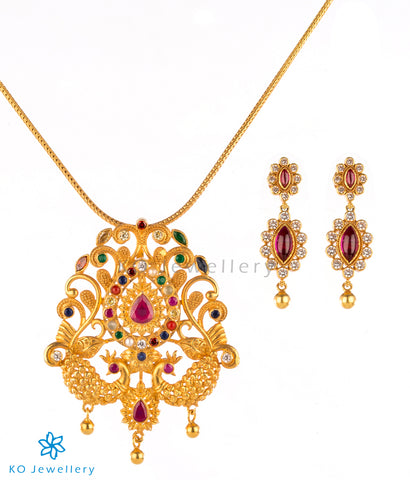 Antique South Indian gold dipped jewellery designs
