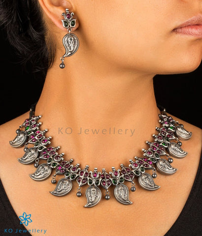 The Avighna Silver Necklace