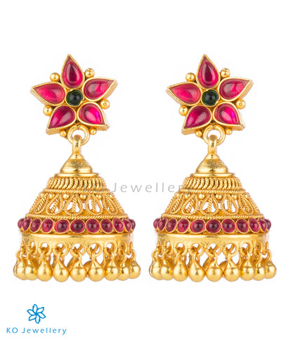 Buy exclusive gold dipped temple jewellery online at KO