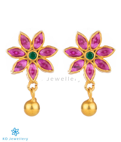 Indian gold plated earrings at affordable rates