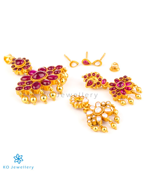 Handcrafted silver gold plated jewellery Bangalore