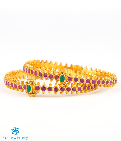 Purchase authentic gold coated bangles online