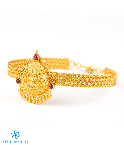 The Dharaa Silver Bridal Armlet or Bajuband