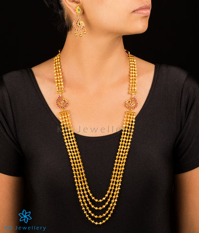 Buy gold plated long necklace online