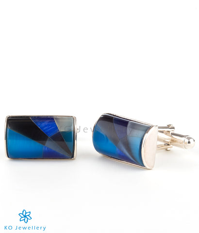 The Blues Silver Cufflinks