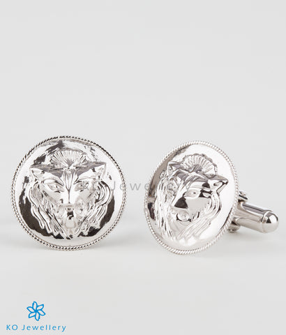 The Regal Silver Cufflinks