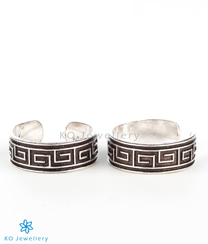 The Charit Silver Toe-Rings