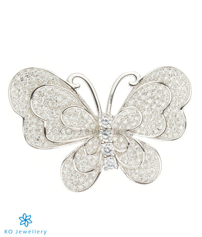The Butterfly Silver Brooch