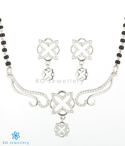 The Vedya Silver Mangalsutra