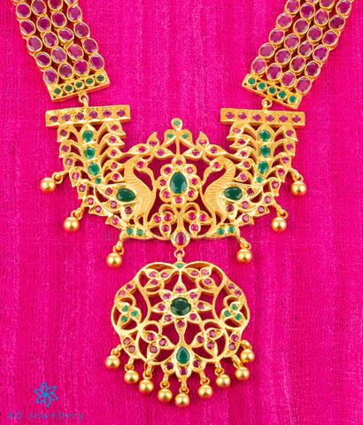 The Avantika Silver Makarakanti Necklace