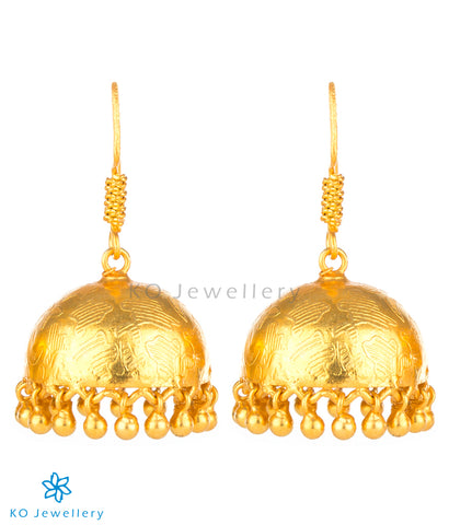 The Iti Silver Jhumka