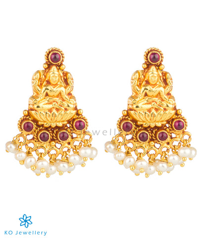 The Paramaa Silver Laxmi Earrings