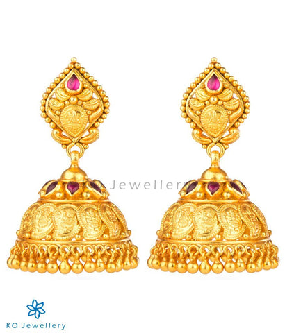 The Shreya Silver Coin Jhumka