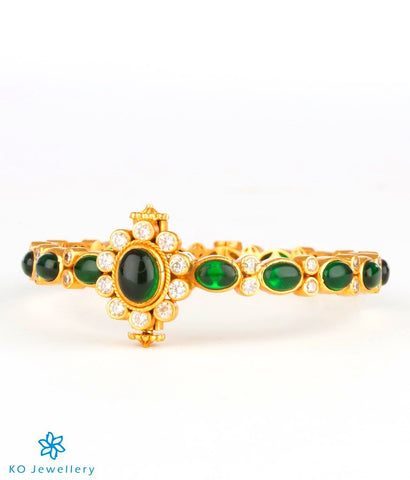 Stunning gold polish jewellery designs KO India