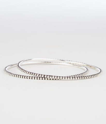 Buy handcrafted silver bangles online