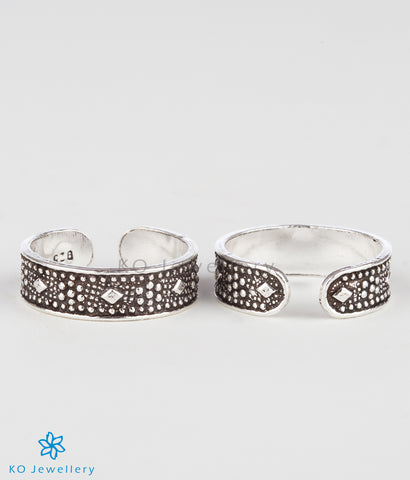 The Anya Silver Toe-Rings