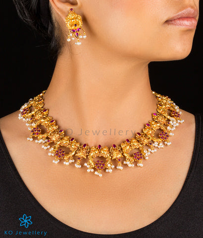 Heritage temple jewellery pure silver KO online