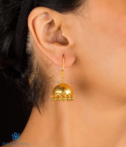 The Iha Silver Jhumka