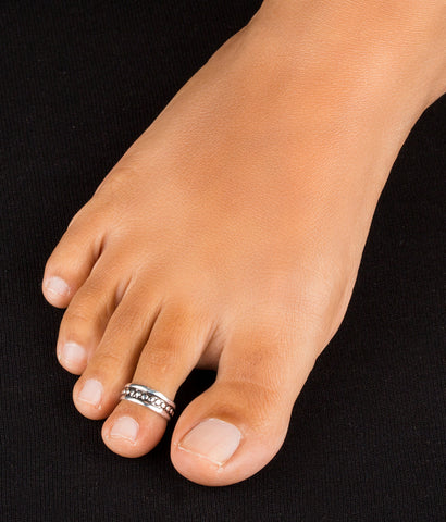 The Prisha Silver Toe-Rings