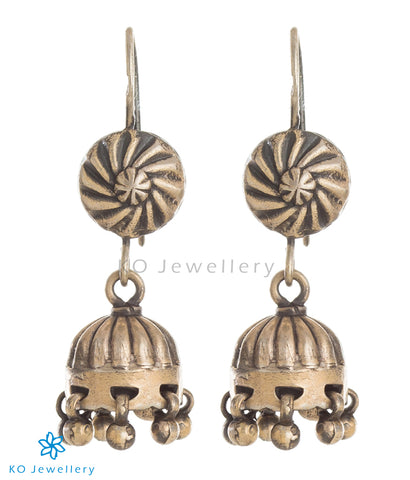 The Aarin Silver Jhumka