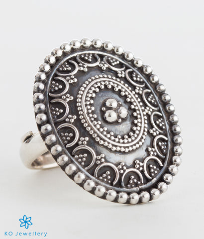 The Samad Silver Finger Ring