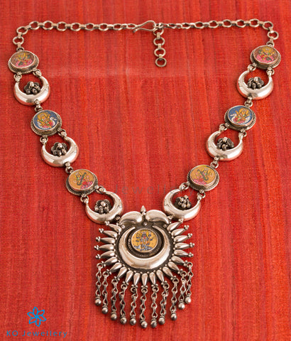 The Aparaa Silver Necklace