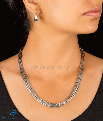 The Dhiti Silver Chain Necklace