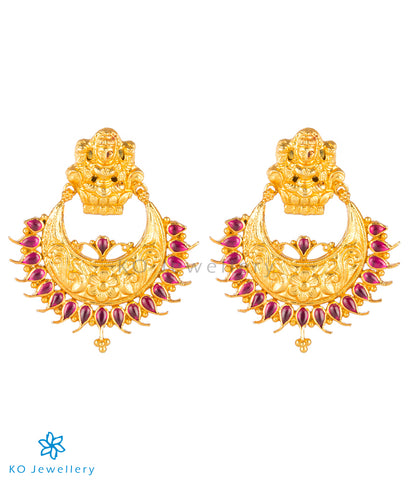 The Shrinika Silver Chand Bali Earrings