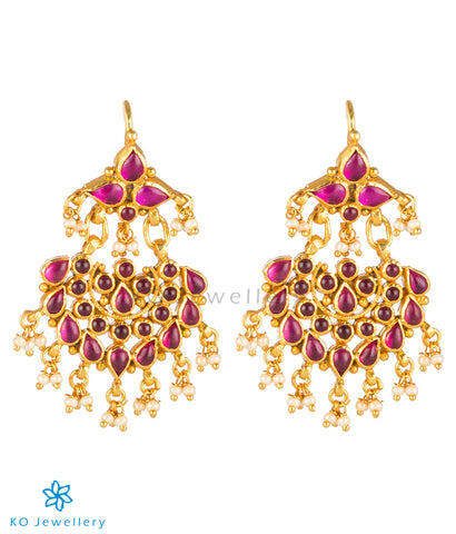 The Prahara Silver Earrings