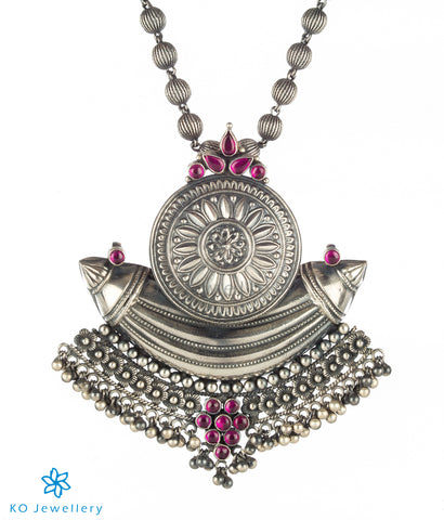 The Paridhi Silver Pendant