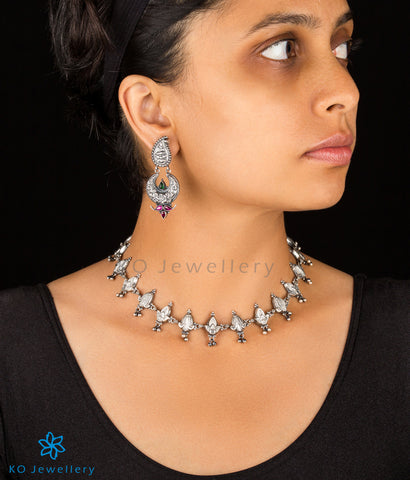 The Varnam Silver Necklace