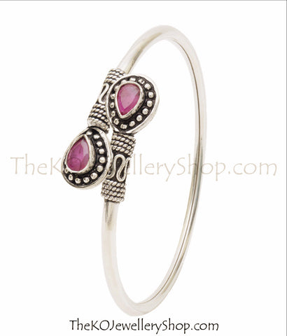 silver bangles online