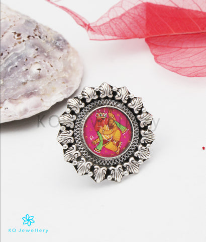 The Gaurish Silver Ganesha Finger Ring