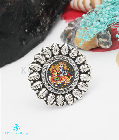 The Avyukta Silver  Finger Ring